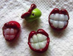 Got Teeth??? - Lampwork Etc.