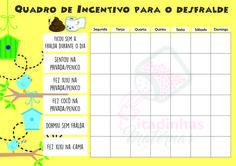 Quadro de Incentivo para o Desfralde Passarinhos (tema para meninas)