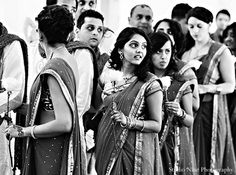 indian wedding bridesmaids ceremony http://maharaniweddings.com/gallery/photo/12559