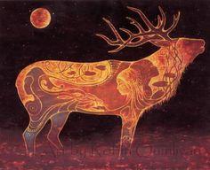 Lyck-Radierung  8 x 10 Kunst Drucken  Öl-Pastell von RobinQuinlivan