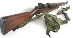 Garand / Caliber / Semi-Auto This is a classic military rifle that helped win World War II. My personal favorite! Weapons Guns, Military Weapons, Guns And Ammo, Battle Rifle, Springfield Armory, Fire Powers, Hunting Rifles, Cool Guns, Military History