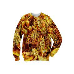 : Super Shinies : Sweatshirt from Print All Over Me  /  #printalloverme #fantasymall #onlinemall   #fantasygifts #fantasyshopping #CorianderShea #jewelry
