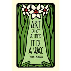 Art Is Not A Thing 2x3 Magnet