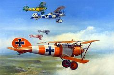 Albatros Circus, by Ron Jobson