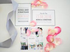 Custom mada wedding invitations and stationery  by www.makeadesign.fi / Photo: Xenia´s Day http://anna.fi/xeniasday/haakutsut-haiden-paperituotteet/ / Häät - kiitoskortit - Save the date kortit - hääkutsut