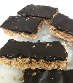 Chocolade-kokoskoek (vegan, suikervrij & tarwevrij) #suikervrij #zonder_suiker