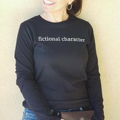 Fictional Character Tshirt from the Appropriately Inappropriate Apparel collection. Now Available with free domestic shipping! Smile Design, T Shirts For Women, Sweatshirts, Sweaters, Cotton, Mens Tops, Free, Fictional Characters, Collection