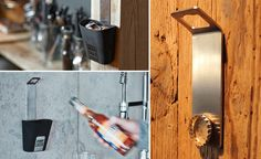 Johnny Catch Bottle Opener Catches Your Caps with a Powerful Magnet