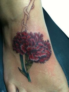 a13737f0c This one looks so real! Stefanie Zepeda · Tattoos · Non-Embellished Vintage  Carnation ...