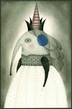 The only thing the Queen of Quibbles needed was a nose-job. Book Cover Design, Book Design, Drawing Sketches, Art Drawings, Illustration Arte, Graphic Design Books, Little Elephant, Abstract Portrait, Surreal Art
