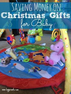 Baby;s first Christmas can be kind of a big deal. Be sure to follow these 4 tips on saving money on Christmas gifts to keep it fun without going over budget