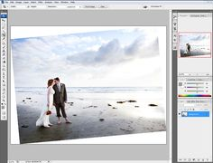 Photoshop Tutorials  Leveling the Horizon Tutorial – Ashley McNamara – Danville Photographer