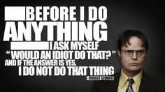 The Office. One of the few TV shows that can make me laugh out loud. Wallpaper 1920x1200, Hd Wallpaper, Wallpaper Awesome, Dwight Schrute Quotes, Dwight Quotes, The Office Dwight, Office Quotes, Office Memes, Funny Office