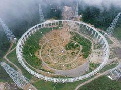 Chine : le plus grand radiotélescope du monde vise à détecter la vie extraterrestre