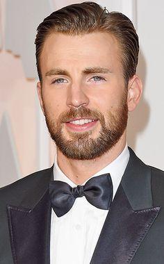 Oscars 2015: Lumberjack Chic? We Judge the Beards | Chris Evans | EW.com