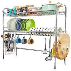 Ten of The Very Best Dish-Drying Racks You Can Buy Right Now First Apartment Checklist, First Apartment Essentials, Bulthaup Kitchen, Kitchen Space Savers, Boffi, Dish Drainers, Dish Racks, Best Dishes, Home Decor Ideas