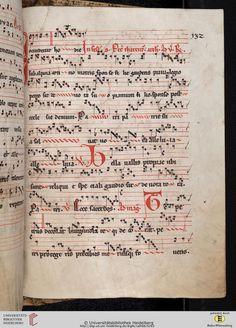 Antiphonarium Cisterciense Salem, um 1200 Cod. Sal. X,6b  Folio 132r