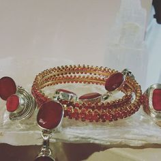 #ruby #sterlingsilver #gold #rings #bracelet #minniesfindings #mothersday #FREESHIPPINGINUSA