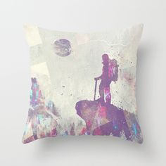 Buy Explorers I by HappyMelvin as a high quality Throw Pillow. Worldwide shipping available at Society6.com. Just one of millions of products available.