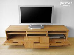 【楽天市場】幅158cm タモ材 タモ無垢材 木製 テーパー脚 和モダンテイスト 和の趣を感じさせるデザインのテレビボード JOE-TV158 ナチュラル色 ダークブラウン色 2色 欠品中、次回入荷は6月中旬頃:JOYSTYLE interior