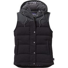 Women's+Patagonia+Bivy+Hooded+Vest+-+Sulphur+Yellow+with+FREE+Shipping+&+Exchanges.+Keep+cold+and+rain+at+bay+with+this+Patagonia+Bivy+Hooded+Vest.+Its+nylon+