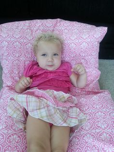 PINK PILLOW BED by CustomTouchSewing on Etsy, $40.00