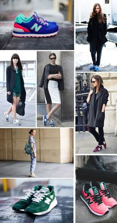 trainer sytle look cool chic fashion