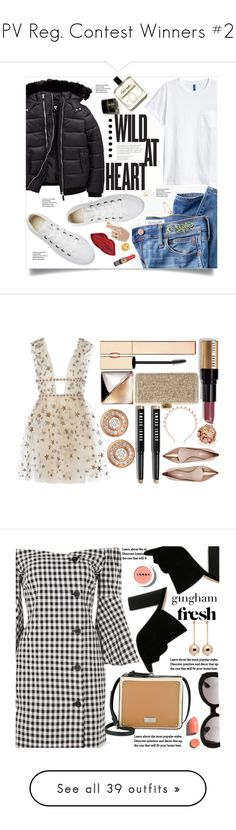 """PV Reg. Contest Winners #2"" by pat912 ❤ liked on Polyvore featuring Madewell, Converse, H&M, Jeweliq, Decree, Georgia Perry, Clarins, Calvin Klein, Bobbi Brown Cosmetics and Oscar de la Renta"