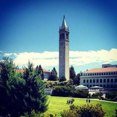 Campanile (Sather Tower) in Berkeley, CA