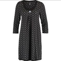 """8ea3891be5 Sweetheart Nightwear on Instagram  """"Rene Rolf Black Print Stretch Jersey  Nightdress S M L XL  print  nightdress  nightwear  sleepwear  renerolf   jersey"""""""