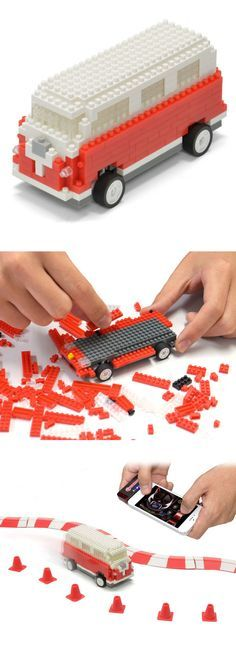 iPhone-controlled Lego Van - cute activity for kids -Check out more Cool Boys Toys & Gadgets at parkinandco.uk