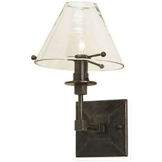 Currey and Company Kiran Bronze Gold Wall Sconce 5127