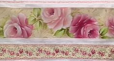 Pintura em Tecido Passo a Passo: Pintura de rosas em toalha