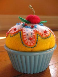 Sweet pincushion.