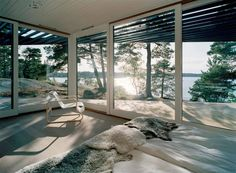 Archipelago house / Tham & Videgård Hansson. Find more here : http://www.archdaily.com/12149/archipelago-house-tham-videgard-hansson/