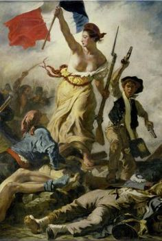 Louvre Museum - Eugene Delacroix's Liberty Leading the People of France (Detail) Ferdinand, Classic Art, Art Images, Eugène Delacroix, Louvre Museum, Romanticism, Art, Eugene, Liberty Leading The People