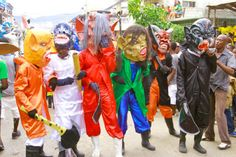 Carnaval 2014 in Jacmel south of Haiti