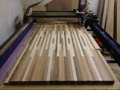Image result for butcher block dining table plans Butcher Block Dining Table, Diy Dining Room Table, Table Plans, Woodworking, Hairpin, How To Plan, Cutting Board, Tables, Coffee