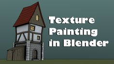 Tutorial: Hand Painting Tileable Textures in Blender 2.74