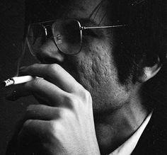 Robert Smithson by Jack Robinson, 1969