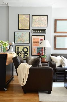 Apartment Therapy Small Spaces Living Room: 8 Great House Tours Under 500 Square Feet Small Space Living Room, My Living Room, Small Spaces, Living Spaces, City Living, Apartment Therapy, Studio Apartment, Apartment Living, New York Studio
