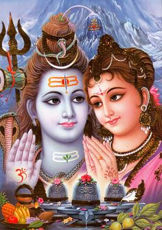 pictures of shiva and parvati - Google Search