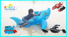 awesome Giant Inflatable Shark Water Toys for Kids Parrot Drone Hot Wheels RC Terrain Twister Thomas Train