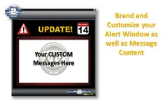 Desktop Alert Internal Messaging Communication Tools Employee Alerts Scrolling Ticker