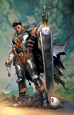 Berserk by Tyler Kirkham, colours by Mystic Oracle