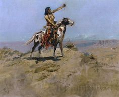 The Signal by Charles Marion Russell