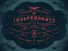 Peace, Plenty, and Independence by Adam Trageser