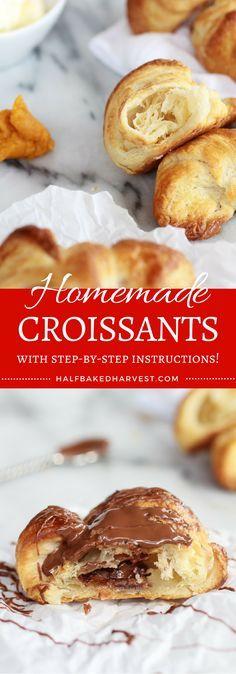 Homemade Croissants | http://halfbakedharvest.com @hbharvest