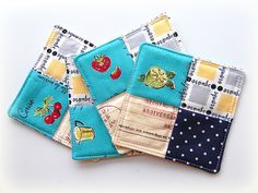 coasters by ayumills, via Flickr