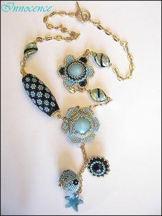 Necklaces rocailles/Seed Beads - Taj Pendant de… - 1er bijou de… - Jewel de Sabine… - Boule Ayshe de… - Ayshe et Egyptian… - Des Cabochons.... - Fleur… - Le printemps… - Une Sharon de… - Une Passion Flower… - Un petit sautoir de… - Ah ce bleu,jen… - On continue avec… - Un sautoir LV en… - Des Sautoirs.... - Et un petit swap un! - Parure Folklo et… - Swap de lété… - Deux sautoirs - Concours collier… - Beads and Bijoux